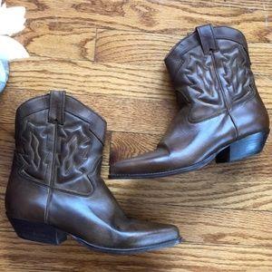 Nine West Ankle Western Booties